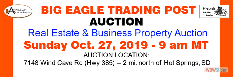 Big Eagle Trading Post Auction