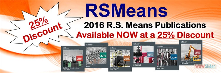 RS Means Discount 2016