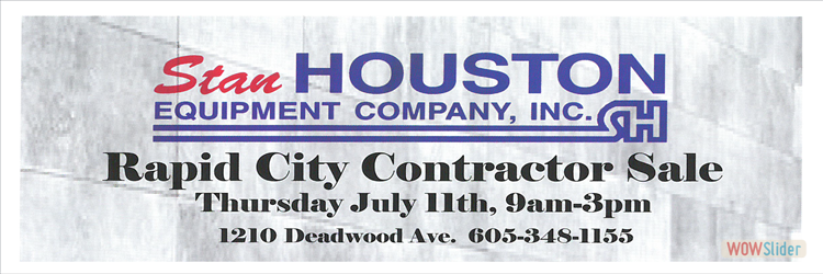 Stan Houston Food and Contractor Sale